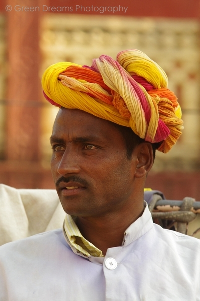 Portrait of a Mahout - Amber Fort - Jaipur