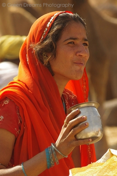 Girl - Pushkar Fair